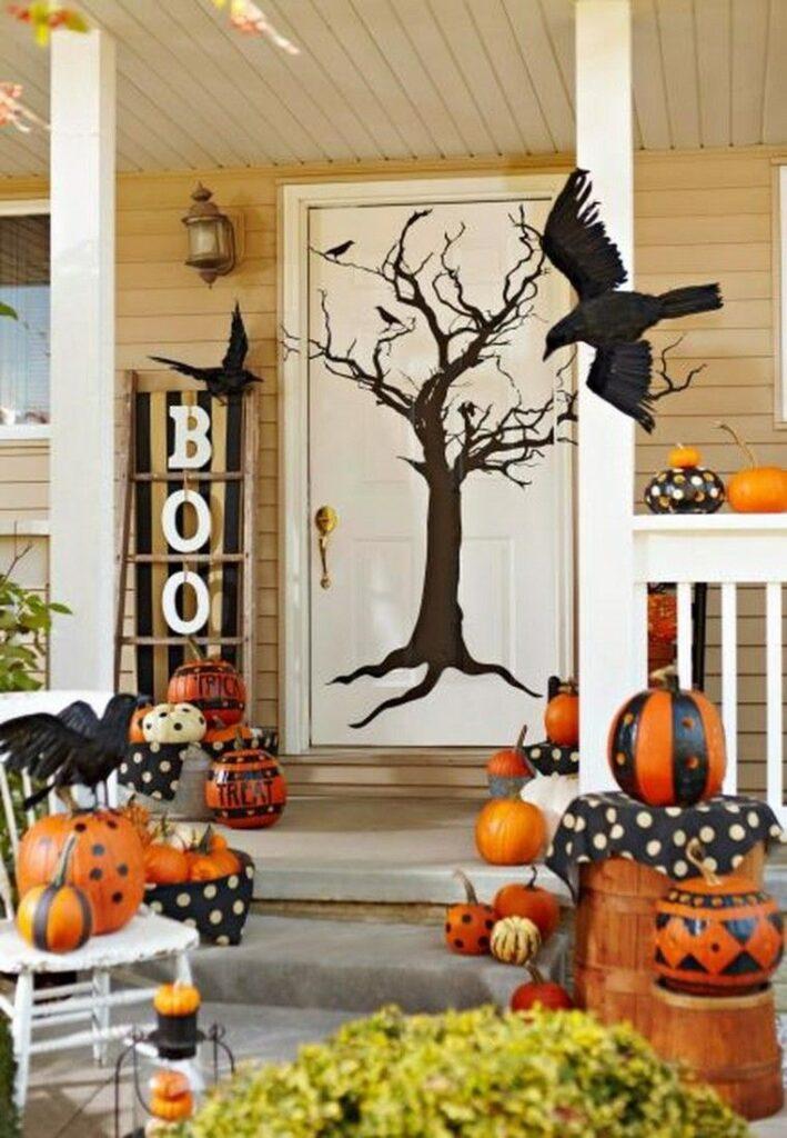 31 de Octubre decorar puerta