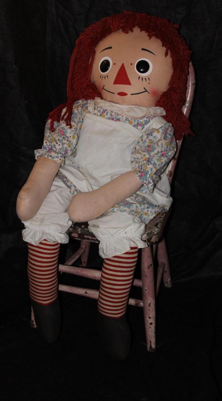 Anabelle muñeca de trapo