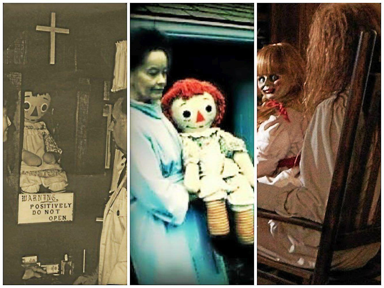 La muñeca Anabelle real