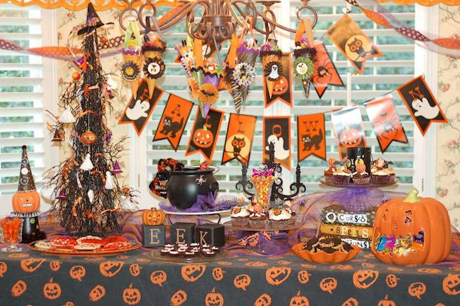 decoración de Halloween casera