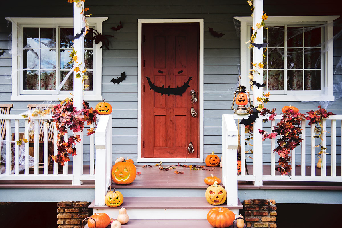 decoraciones Halloween puertas
