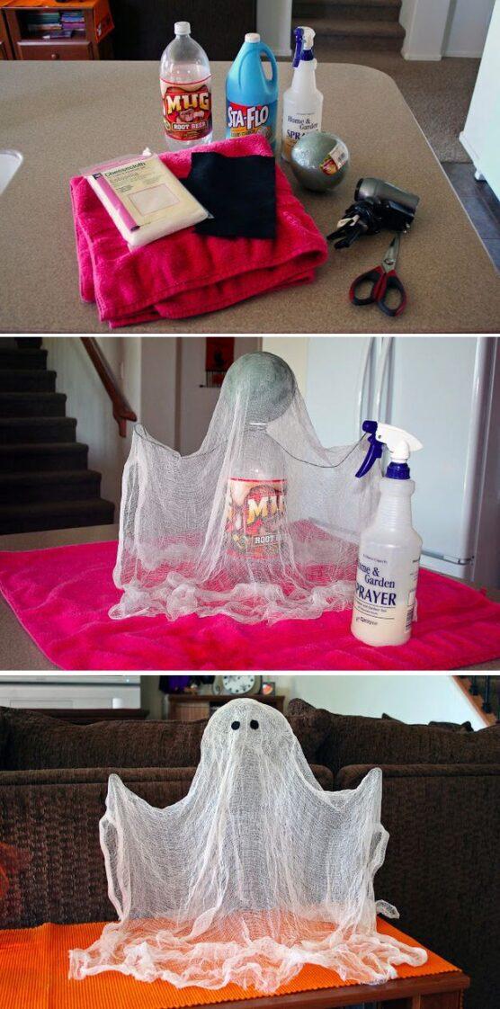 hacer un fantasma casero