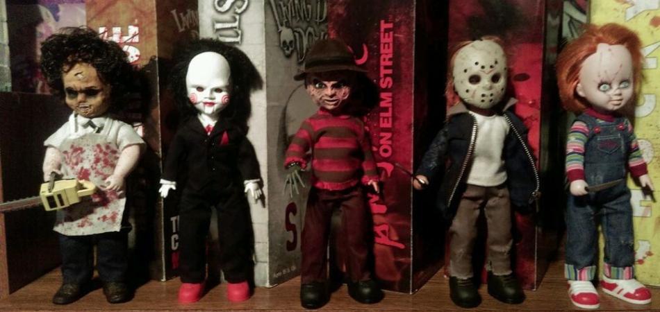 muñecos terroríficos para Halloween