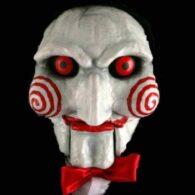 Maquillaje de muñeco Saw
